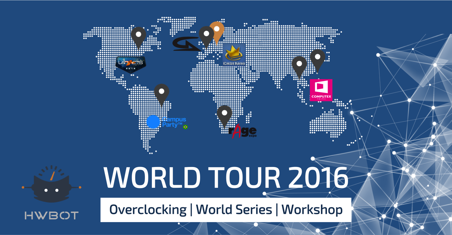 World Tour 2016 General Information
