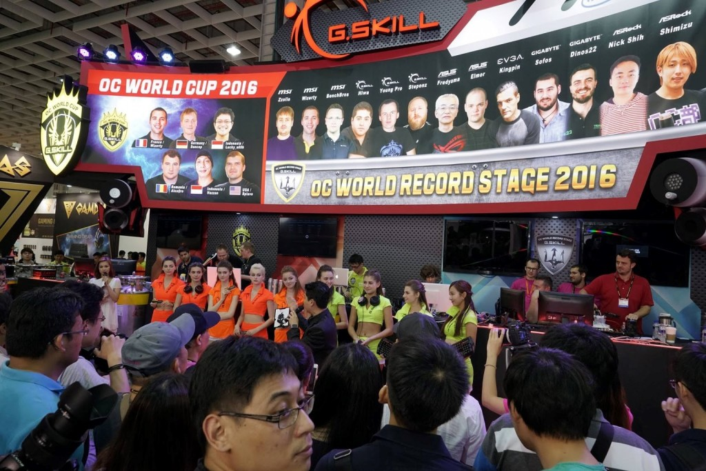 G.SKILL Booth at computex