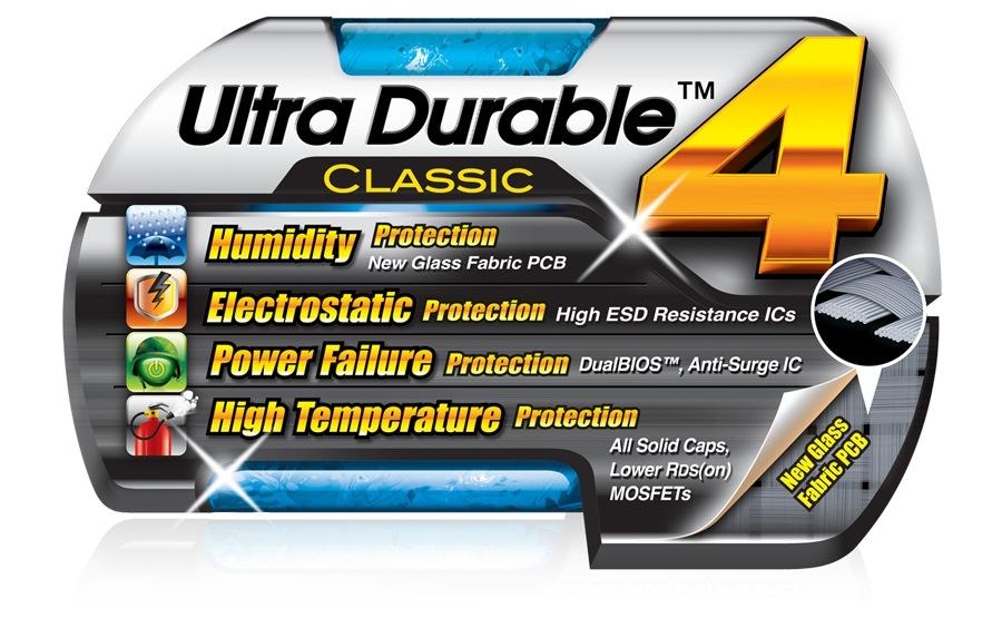 GIGABYTE Ultra Durable 4 Classic Debuts on GIGABYTE H61