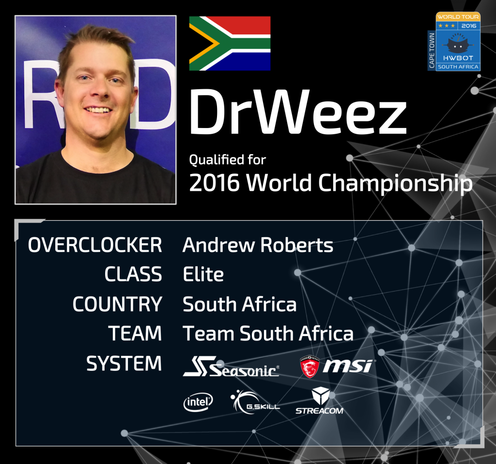 drweez world championship ticket