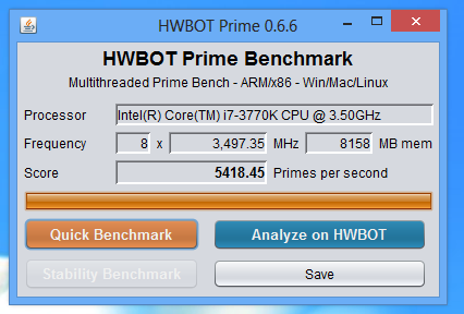HWBOT Prime Goes Beta - Bench everything from X86 to ARM to Mac or